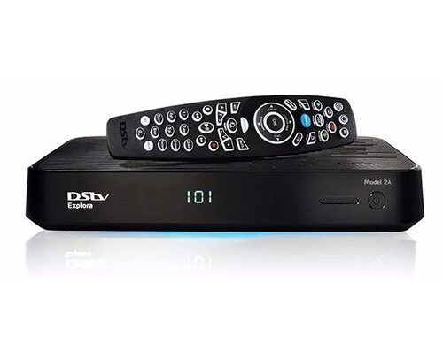 Dstv decoder and remote